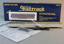 LIONEL AMERICAN FLYER FASTRACK  ACTIVATOR RAIL S Gauge AF 2 rail train 6-49085
