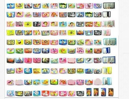 New Lot 120 Pcs Mix children folding wallet purses gift bags