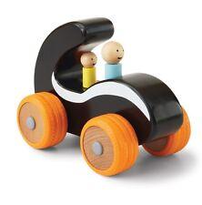 Manhattan Toy Wood Car Black White Orange Wooden Parents Collection 12m+ NEW
