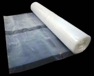 clear polythene plastic sheeting 4m wide rolls 62 5mu 250. Black Bedroom Furniture Sets. Home Design Ideas
