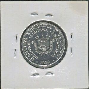 BURUNDI-FANTASTIC-HISTORICAL-ALUMINUM-5-FRANCS-AMAFRANGA-1980-KM-20