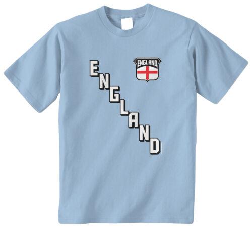 Threadrock Kids Team England Youth T-shirt Flag Country British Soccer