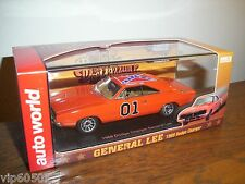 "AUTO WORLD 1 of 1000 DUKES OF HAZZARD 1:43 ""GENERAL LEE"" 1969 DODGE CHARGER-NEW!"