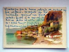 COMO lago Prosdocimi illustratore vecchia cartolina
