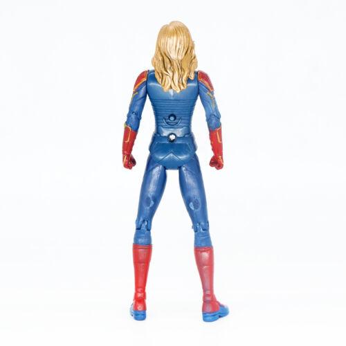 5PCS Marvel Vengadores Capitán Marvel Spider Man Doctor Strange Figura Estatua NUEVO