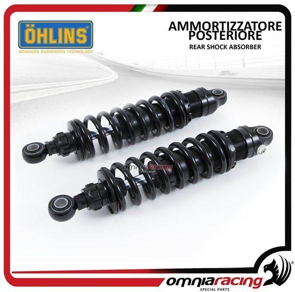 Ohlins 2 of adjust post amortiguadors STX36 Blackline Harley FLH/FLT 90>2015