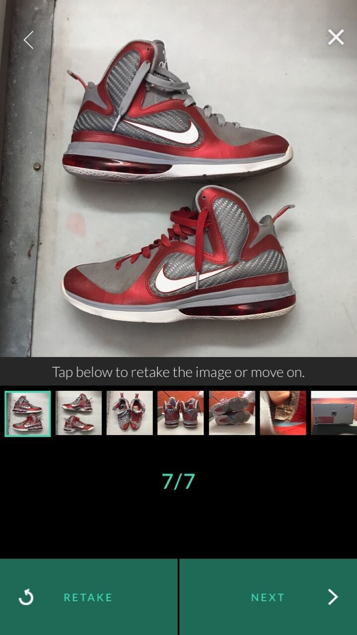 lebron 9 grey ohio state red & grey 9 size 9.5 d1e9b8