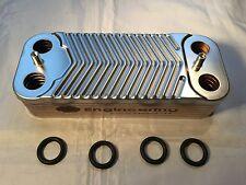 Ideal Mini C24 & HE C24 Boiler DHW Hot Water Plate Heat Exchanger 075460