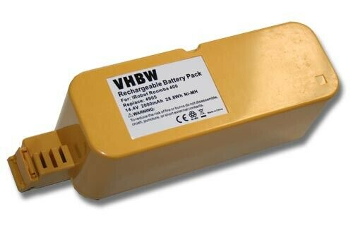 4230 4260 Batteria 2000mAh 14.4V Ni-Mh per iRobot Roomba 4225