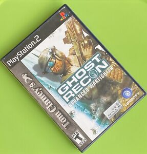 Tom-Clancy-039-s-Ghost-Recon-Advanced-Warfighter-PlayStation-2-PS2-GAME-COMPLETE