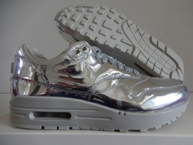 4e7f8b1687 WMNS Nike Air Max 1 SP Liquid Metal Silver Sz 7 616170-090 for sale ...