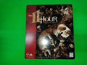 The 11th Hour Sequel To The 7th Guest PC CD ROM Big Box Edition - B739