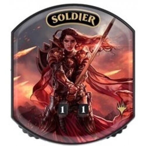 SOLDIER Ultra Pro Relic Token Eternal life counter MTG Magic the Gathering