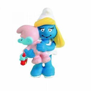 The-Smurfs-figurine-Smurfette-with-baby-5-5-cm-baby-Smurf-201927