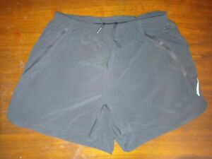 Lululemon Black Run Shorts size Small