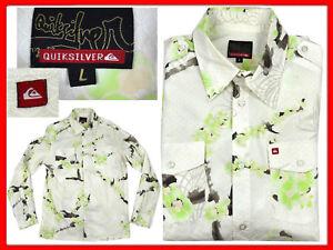 QUIKSILVER-Camisa-Hombre-Talla-L-AQUi-CON-DESCUENTO-QU01-T1P