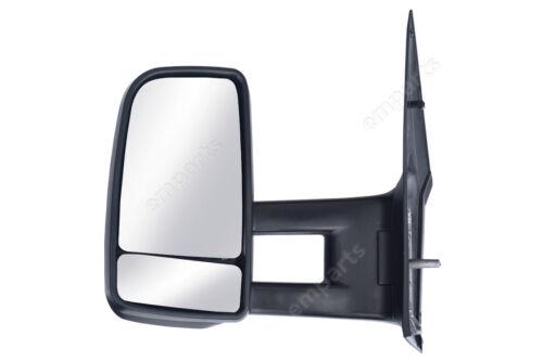 Mercedes Sprinter Porte complète Aile Rétroviseur manuel bras long N//S aucun Indicateur 2006 />