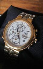 VINTAGE RARE Seiko SQ100 7T39 7A10 Sveglia Cronografo Dual Time AGE OF DISCOVERY