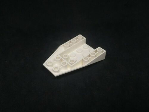 Lego Slope Inverted Wedge 6x4 Boat Hull End Sections White x4 4856