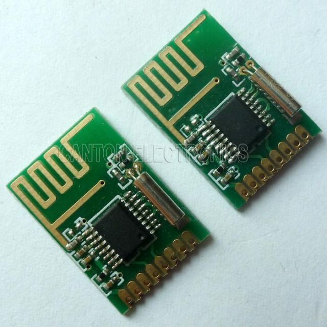 2pcs 6dBm 2.4GHz Wireless Transceiver Module LT8900 Compatible NRF24L01 SPI Bus