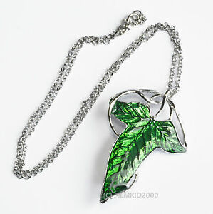 Lotr lord of the rings hobbit frodo aragon elven leaf brooch image is loading lotr lord of the rings hobbit frodo aragon aloadofball Choice Image