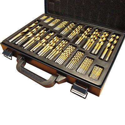 Mauk Bohrer für Holz + Metall Set Holzbohrer Metallbohrer 202tlg hochwertig #02