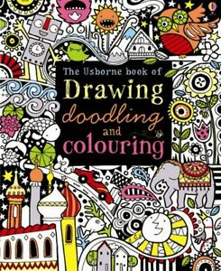 USBORNE-BOOK-OF-DRAWING-DOODLING-amp-COLOURING