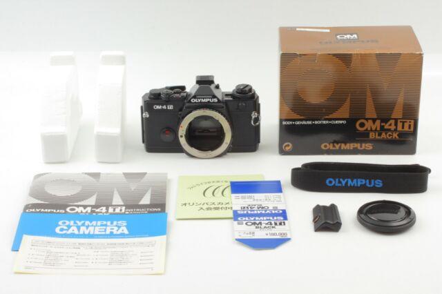 ATTENTION! [UNUSED in BOX] Olympus OM-4 Ti Black 35mm SLR Film Camera Body Japan