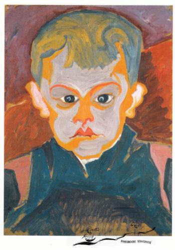 Postkarte // Postcard Art : Carl Lohse Blauer Junge um 1920 Junge