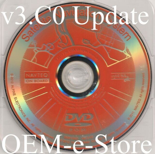 Acura TL MDX Honda Accord OEM Navigation GPS DVD CD Disc