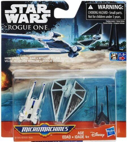 Star Wars The Force Awakens Micro Machines High Speed Rebel Raid Vehicle 3-Pack