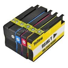 4 für HP 950XL 951XL DRUCKER PATRONEN TINTE OFFICEJET 8100 8600 8620 8620 276DW
