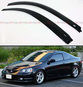 For 02 06 Acura Rsx 2 Door Coupe Dc5 Type S Jdm Style Window Visors