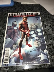 ULTIMATE FALLOUT #4 2ND VARIANT PRINT 1ST MILE MORALES SPIDER-MAN
