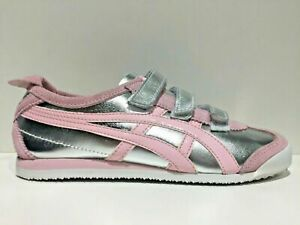 SCARPE-SNEAKERS-DONNA-ASICS-TIGER-ONITSUKA-ORIGINAL-MEXICO-66-BAJA-CL613-PELLE