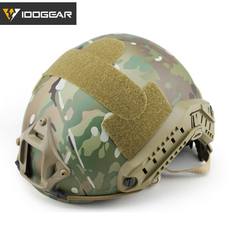IDOGEAR Tacitcal FAST  Helmet MH Type Advanced Adjustment w NVG Hunting Military  shop clearance