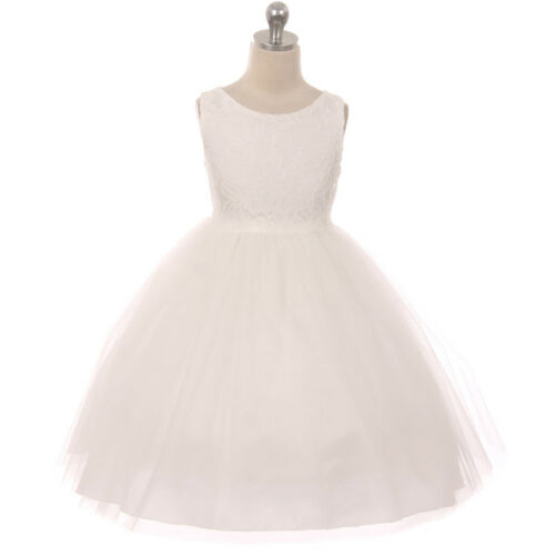Flower Girls Dresses Graduation Birthday Dance Formal Wedding Party Bridesmaid