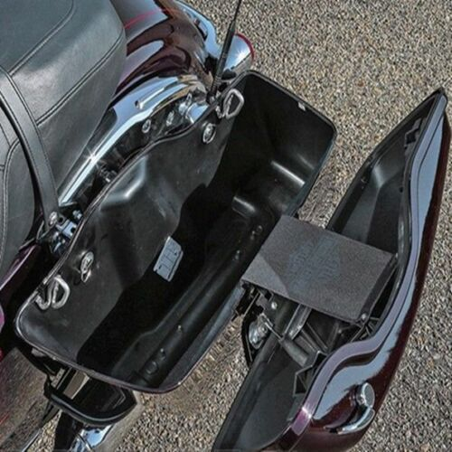 One Touch Saddlebag Latch Lids Hardware Covers For Harley Road King 2014-2018 17