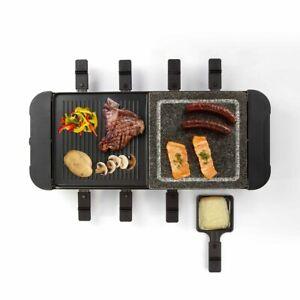 LIVOO-Appareil-a-raclette-8-personnes-Noir