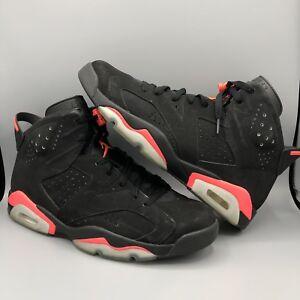 71159d0d522e76 Nike Air Jordan Retro VI Black Infrared 384664 023 Size 12.5 Space ...