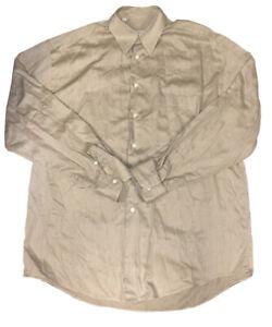 Ermenegildo-Zegna-Men-s-Regular-Fit-Spread-Collar-Shirt-Size-Large