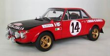 Lancia Fulvia 1.6HF Winner of Rally Monte Carlo #14 1972 AUTOart 1:18 AA 87218