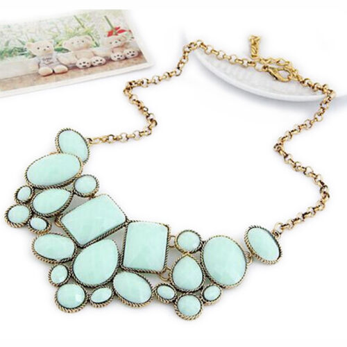 Geometry Collar Necklace Choker Chain Pendant Jewelry For Women New Nice ODLK MO