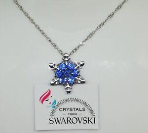 Collana-donna-argento-e-pendente-con-Cristalli-Swarovski-Originali-idea-regalo