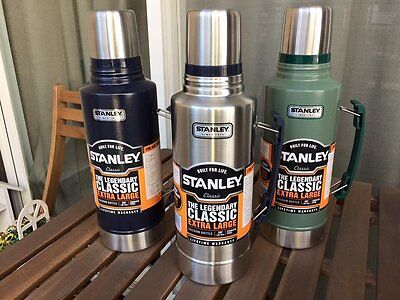Stanley Classic the Legend Extra Large Vacuum Bottle 2-Qt Stainless Steel |  eBay