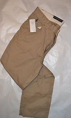 BNWT Khaki denim style slim fit Chinos Ralph Lauren trousers in Size 36W and 34L