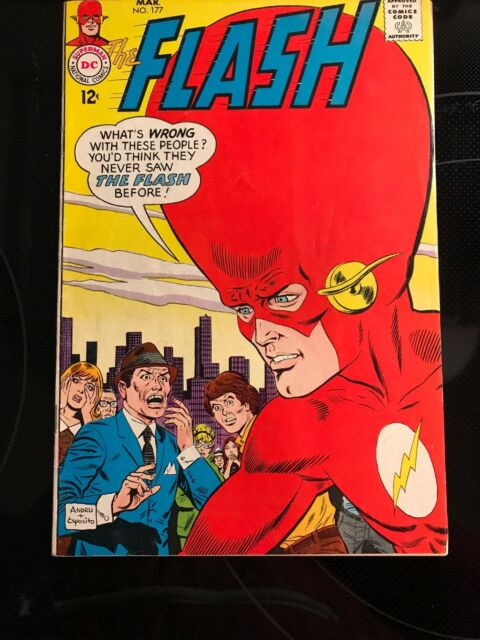 The Flash 177 Mar 1968 Dc For Sale Online Ebay