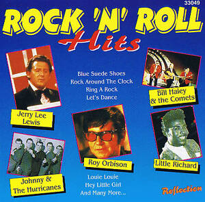Rock-039-N-ROLL-HITS-CD-16-TRACCE-NUOVO-in-scatola-Bill-Haley-J-LEE-LEWIS