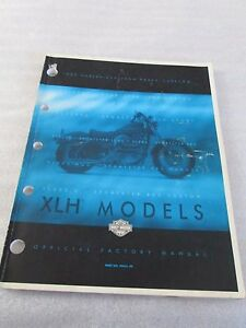 1999 Harley Davidson XLH Model Parts Catalog