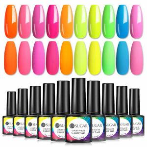 10 Colores Ur azúcar conjunto de Esmalte Gel UV Soak Off UV LED superior de barniz mate